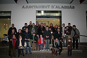 Ajuntament Alaquàs. Prensa. El grupo l'Olivar celebra la Navidad por las calles de Alaquàs