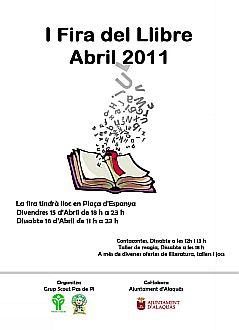 Ajuntament Alaquàs. Agenda. I Feria del libro