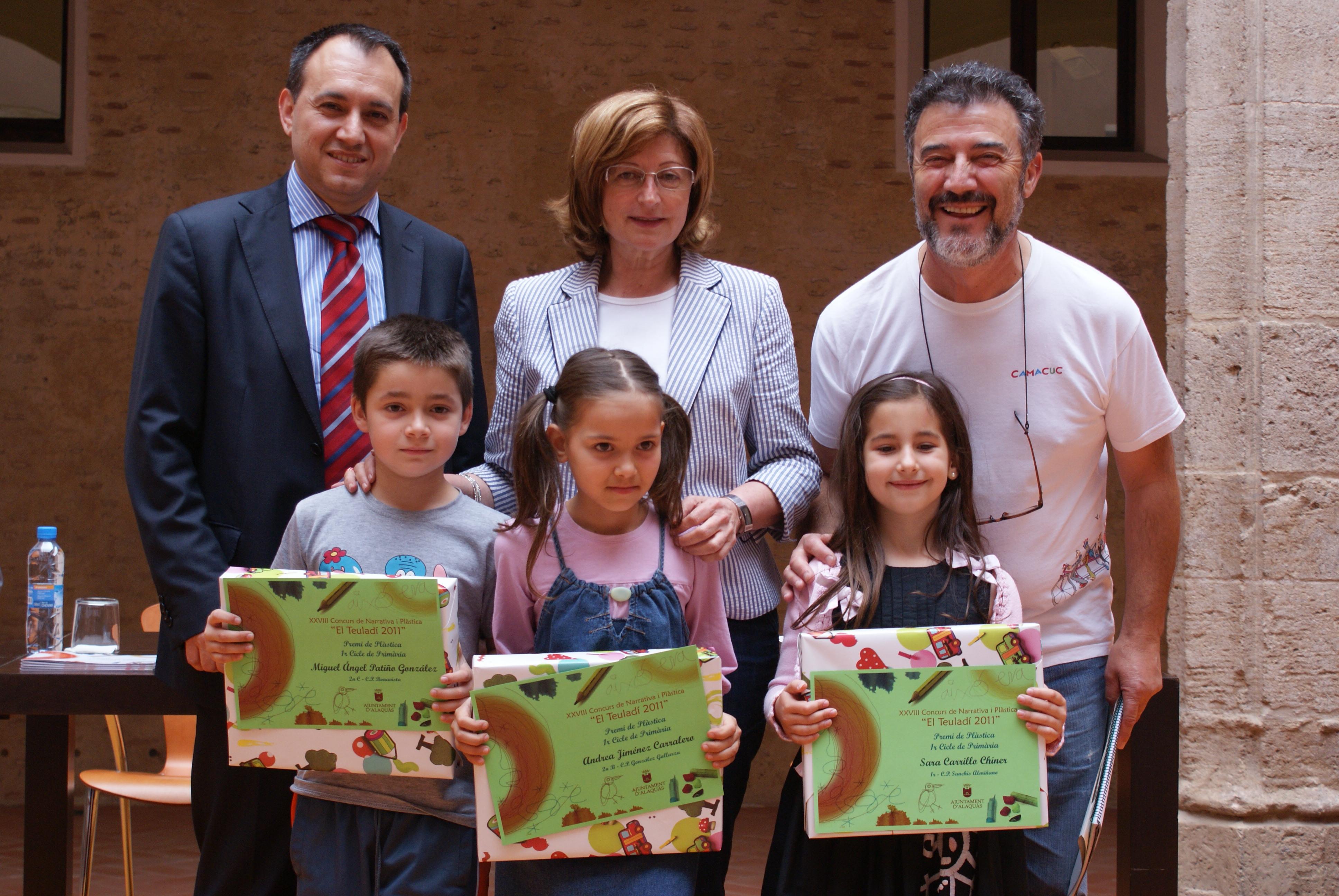 Ajuntament alaqu s prensa el teulad reconoce los mejores trabajos de pl stica y literatura - Trabajo en alaquas ...