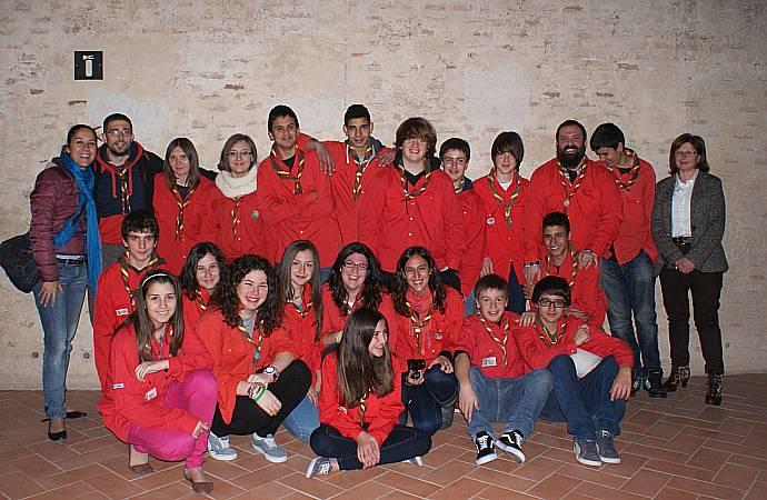 Ajuntament d 39 alaqu s prensa el grupo de scots escolta argila expone en el castell d 39 alaqu s - Trabajo en alaquas ...