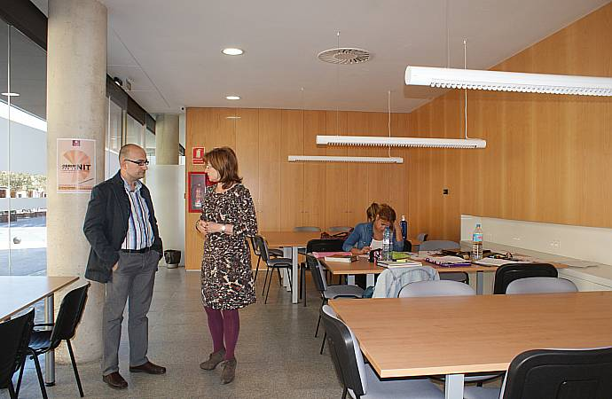 Ajuntament d 39 alaqu s prensa alaqu s abre el nuevo espacio de estudio municipal aula de l 39 olivar - Trabajo en alaquas ...