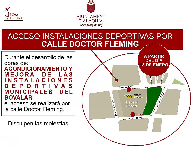 Ajuntament d 39 alaqu s nota informativa obras de acondicionamiento y mejora de las instalaciones - Trabajo en alaquas ...