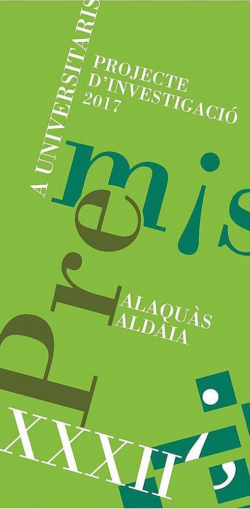 Ajuntament d 39 alaqu s agenda xxxii convocatoria de los premios a universitarios alaqu s aldaia 2017 - Trabajo en alaquas ...