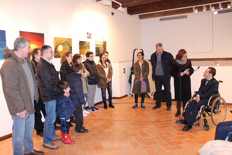 Ajuntament d 39 alaqu s prensa el vecino de alaqu s francisco javier planells al s expone en el - Trabajo en alaquas ...