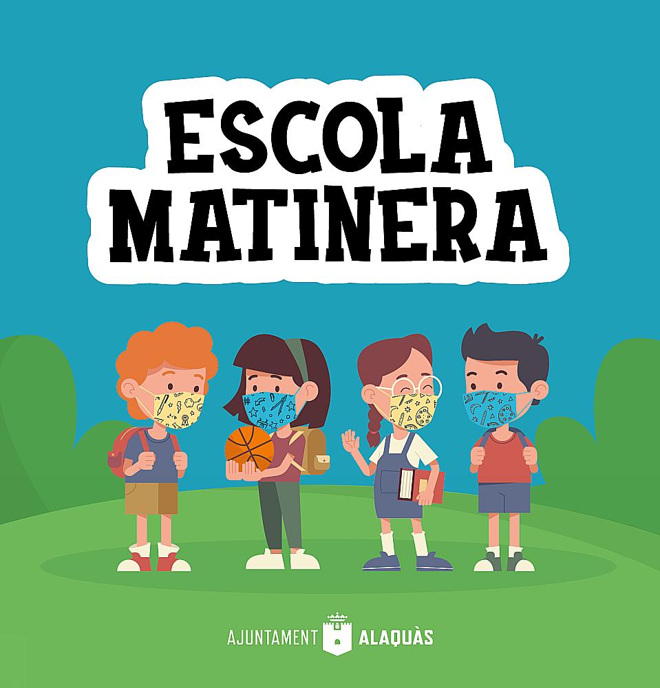 Ajuntament d'Alaquàs. Informació.NORMAS FUNCIONAMIENTO ESCOLA MATINERA 20/21